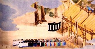 上棟の儀(内宮)図