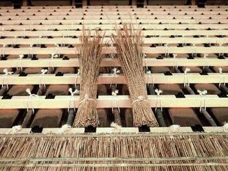 檐付祭 萱葺き