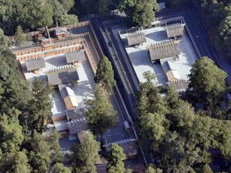 内宮 新旧社殿