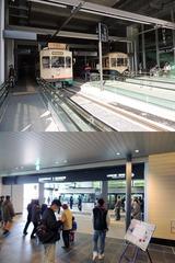 富山駅内の市電駅