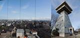 富山港展望台と展望