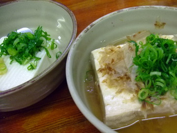冷奴&湯豆腐