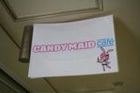 CANDY MAID 天井看板