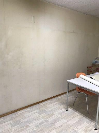 DIY 壁紙貼り 壁紙DIY 西海岸インテリア