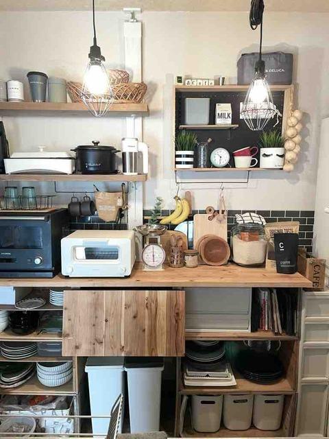 新しいトースターを導入した我が家の狭いけどお気に入りのキッチンインテリア