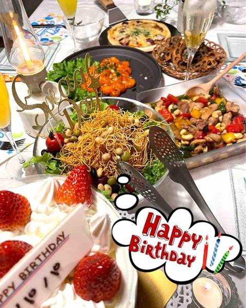 【レシピあり】料理嫌いの簡単手抜きだけど豪華に見える誕生日パーティーメニュー