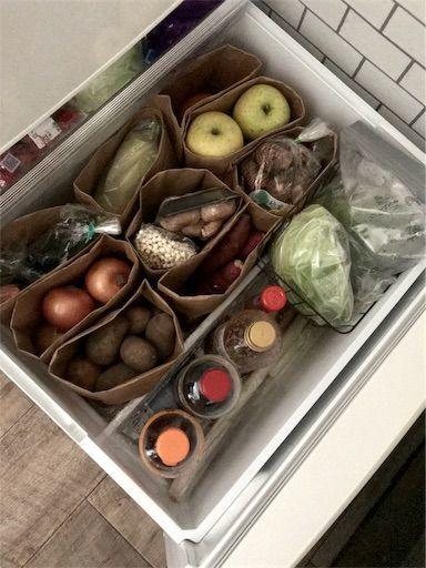 冷蔵庫収納 冷蔵庫整理 野菜室収納