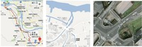 桂川用水地図