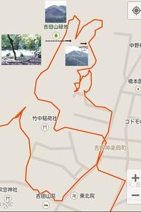吉田山ー地図