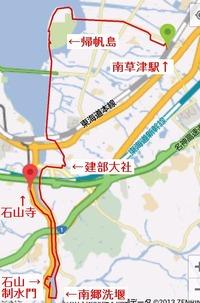 瀬田川地図