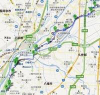 京街道地図