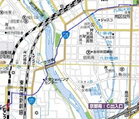 西国街道地図
