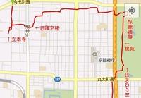 しだれ桜地図