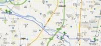 流れ橋map