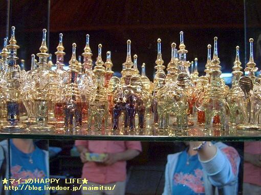 ゾウ&ラクダの香水ビン