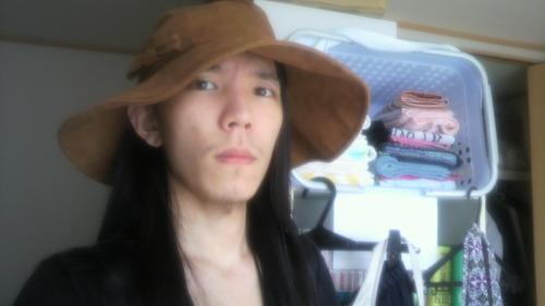 横野真史 帽子 ハット
