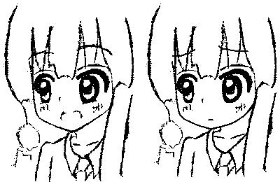 ロリ 萌え 顔 線画