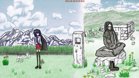 Dominus Immensus 絵 イラスト アート image illustration art 横野真史 Masashi Yokono