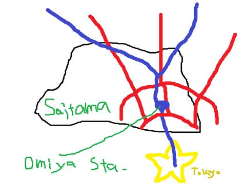 埼玉県 北関東州 州都