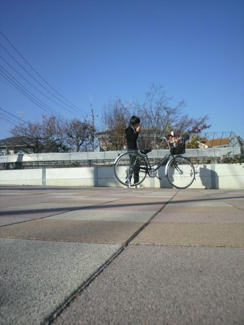 自転車 イケメン