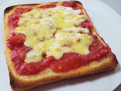 納豆トマトチーズ