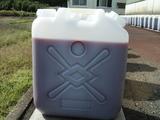 ポリ容器にて養生中の赤菌1
