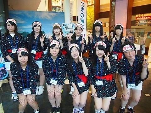 リアル「海女カフェ」が久慈にオープン 高校生海女がおもてなし!