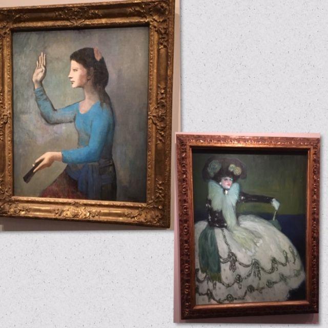 ピカソ 青の時代 自画像