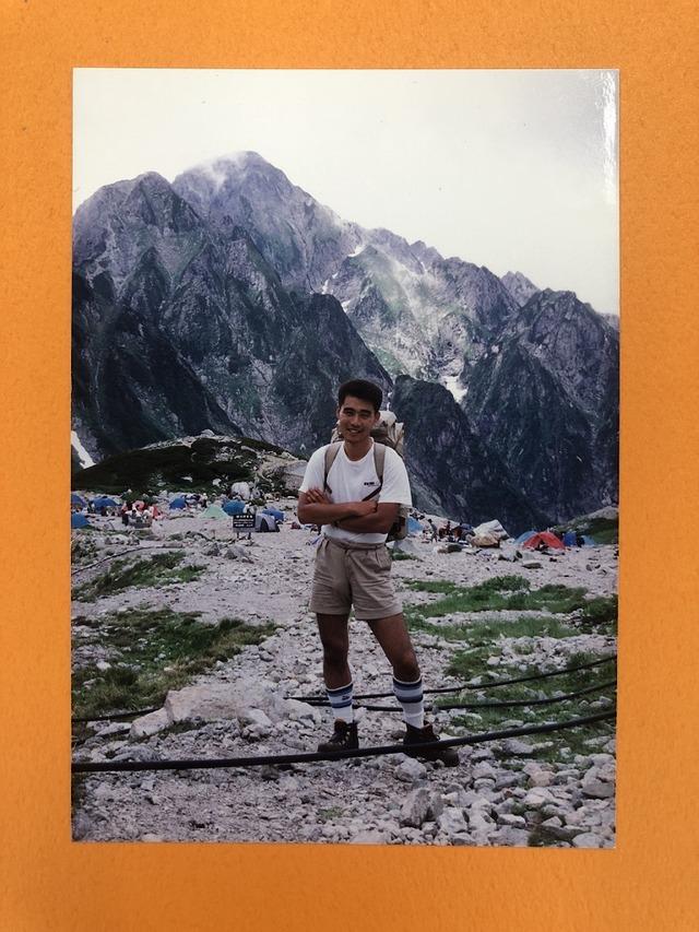 1991年剣岳にて