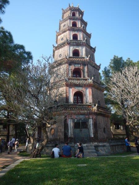 世界遺産ティエンムー寺院
