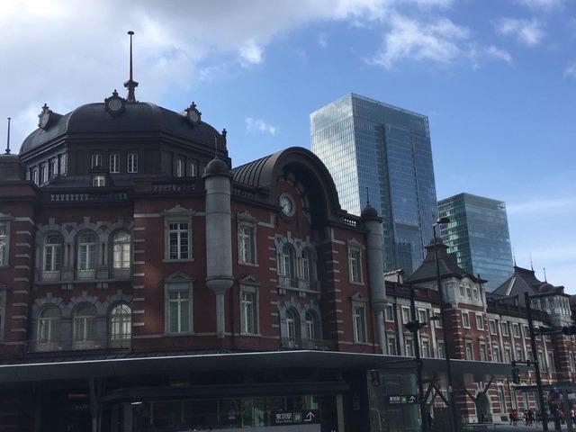 いざ出発!東京駅