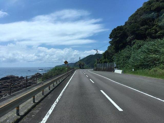 高知の海の景色