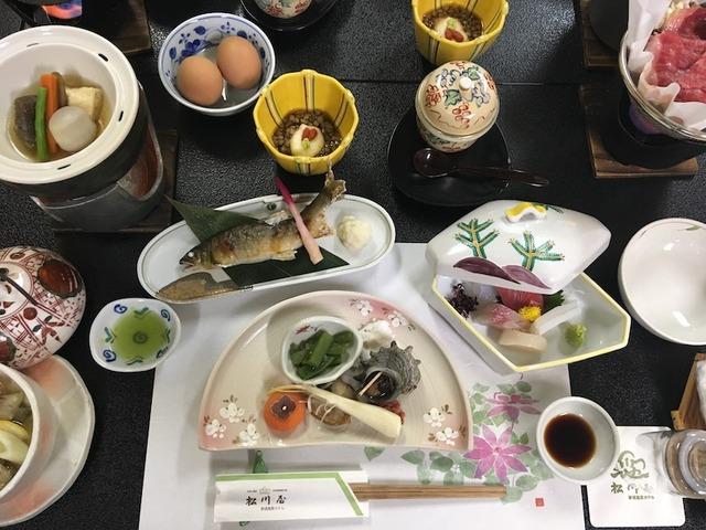 松川屋夕食