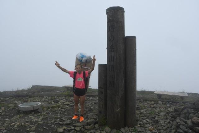 7000回目の塔ノ岳山頂