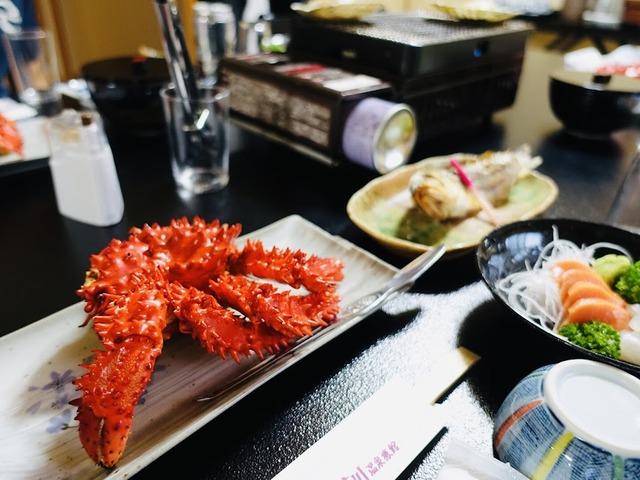 写真14_花咲蟹が今晩の食卓の主役