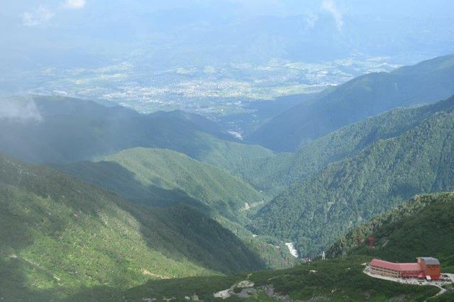 宝剣岳から見下ろす千畳敷カール