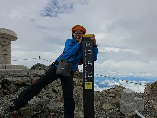 写真07:白馬岳2932m。