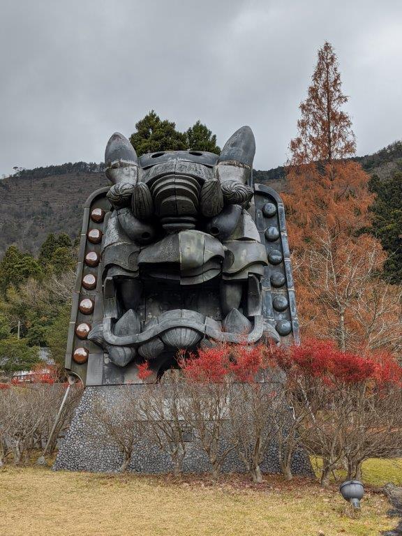 日本一の鬼瓦