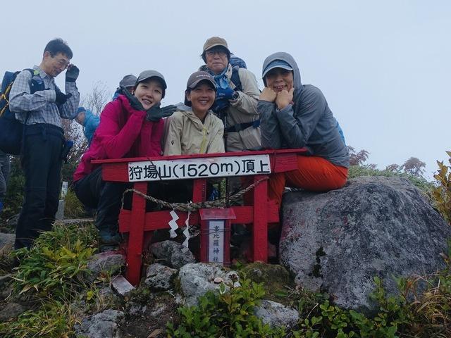 写真05_狩場山頂上にて