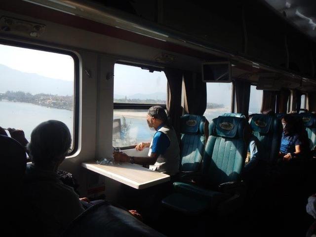 絶景と列車内