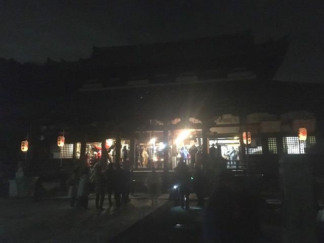 12.三井寺・観音堂に到着