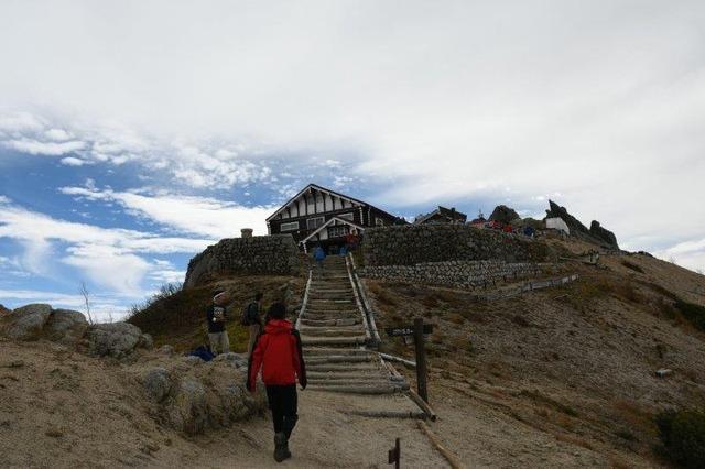 人気の山小屋・燕山荘