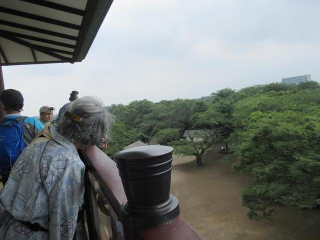 桝形山城展望台の風景
