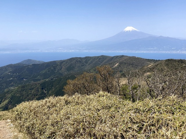 ⑰駿河湾と富士山