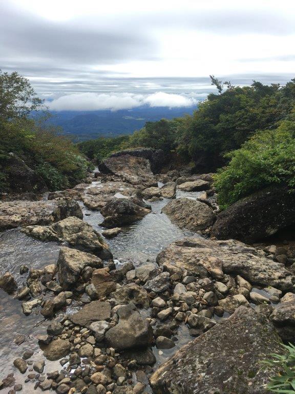 東栗駒山コースの沢②