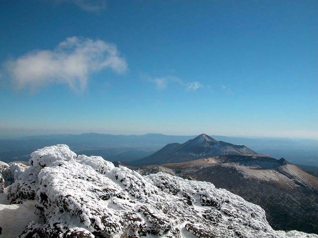 韓国岳から高千穂