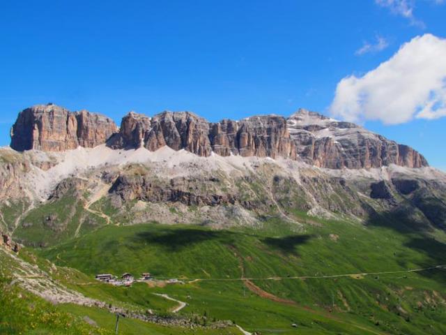 セッラ山群の眺め