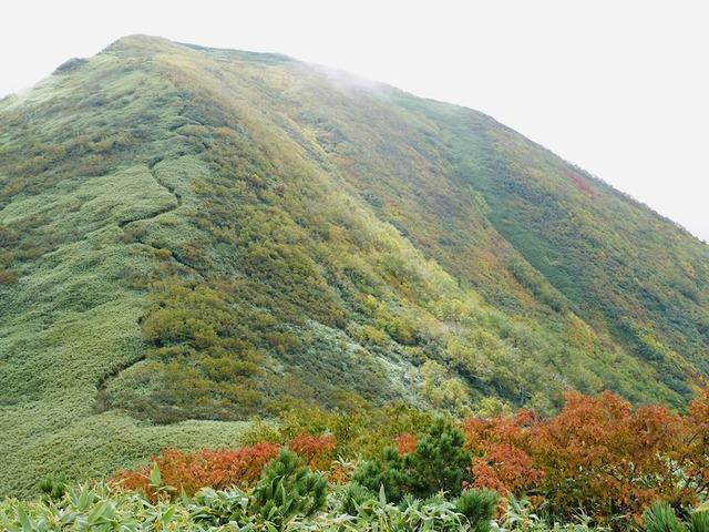 写真09_余市岳山頂へ続く道