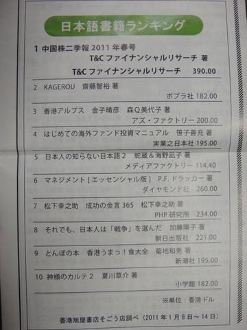 日本書籍ランキング