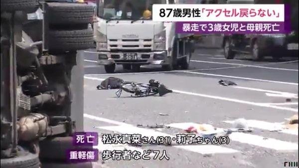 【リスク対策】飯塚幸三さんが母子を轢き殺した直後に取った行動の一覧がこれww